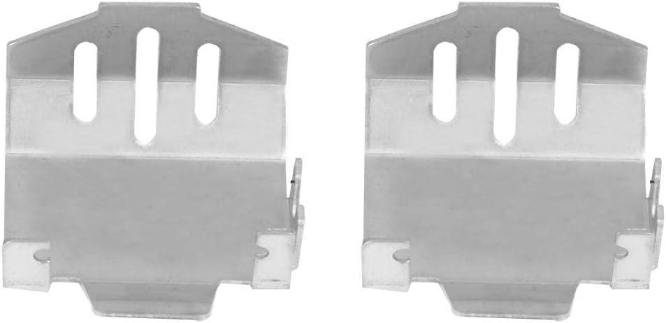 SANON Piastra Paramotore di Protezione Armatura Telaio Acciaio Inox Auto per Traxxas-Trx4 82056-4 Rc 5 Pezzi