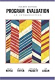 Program Evaluation 4th Edition