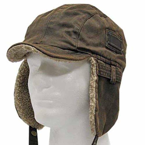 Best PILOT TROOPER Brown Shell AVIATOR Faux Leather Hat USHANKA Trapper Men  and Women - Buy Online in UAE.  492da0bec13