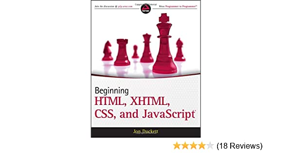 Beginning Html Xhtml Css And Javascript Ebook