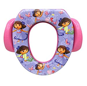 "Nickelodeon Dora The Explorer ""Butterfly Buddies"" Soft Potty"