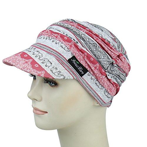 Cap Baseball Silk (Baseball Caps For Chemo Women Newsboy Hats For Chemotherapy)