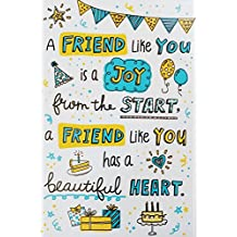 A Friend Like You Happy Birthday Greeting Card