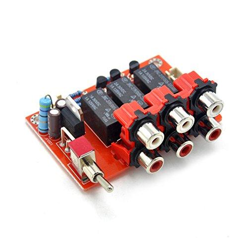 DC12V Three-way Audio Input Switch Board