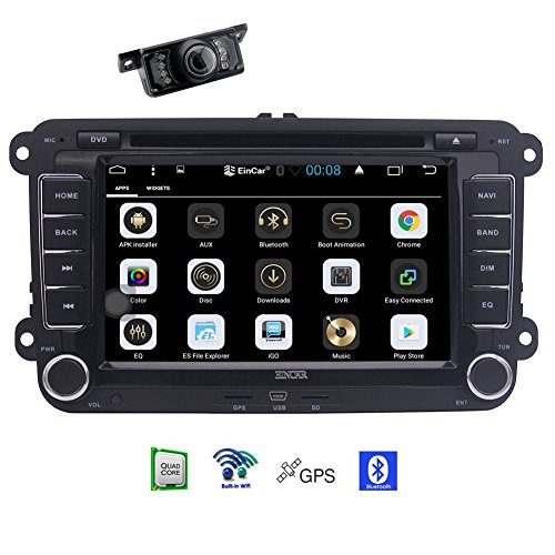 EinCar 7 inch 1GB Android 6.0 Car Stereo Radio for Volkswage