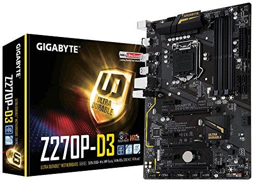 GIGABYTE GA-Z270P-D3 LGA1151 Intel Z270 2-Way Crossfire ATX DDR4 Motherboard