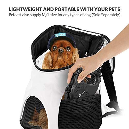 Peteast Retractable Leash Small Breed, 360° Tangle-Free Dog