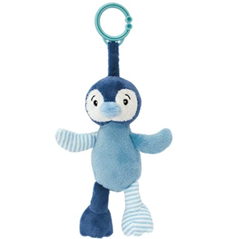 My Teddy My Newborn Sonajero Clip Pingüino Azul/Azul Claro ...