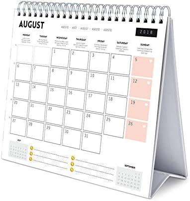 Grupo Erik Editores Calendario Sobremesa Deluxe 2018 Glitter: Amazon.es: Oficina y papelería