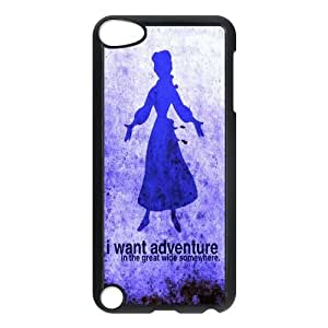 T-TGL(RQ) Custom Brand New Phone Case for Ipod Touch 5 Personalized I want adventure in the great wide somewhere case