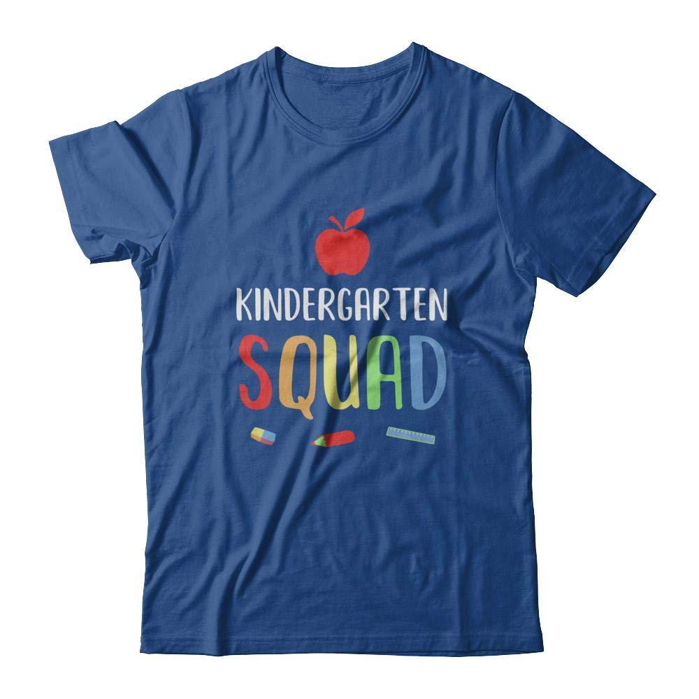 Kindergarten Squad Back To School Tea Gift Shirt Short Sleeve Tee