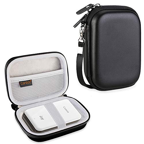 Canboc Carrying Case for Canon Ivy Mini CLIQ CLIQ+ Instant Camera Printer Wireless Bluetooth Mobile Portable Photo Printe, Black