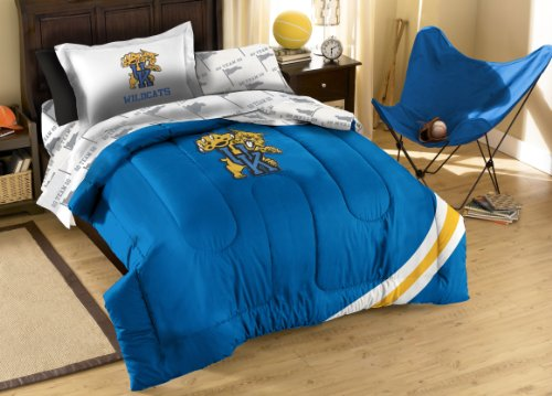 NCAA Kentucky Wildcats Twin Bedding Set