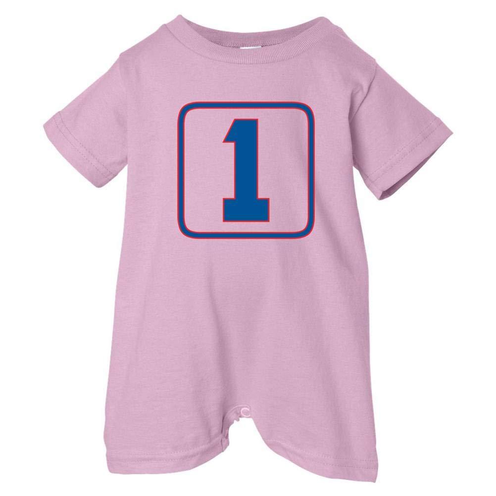 Pink, 12 Months Festive Threads Unisex Baby Birthday 1 Red /& Blue Box T-Shirt Romper