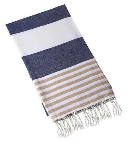 Swan Comfort 100% Cotton Pestemal Turkish Bath Towel, 39