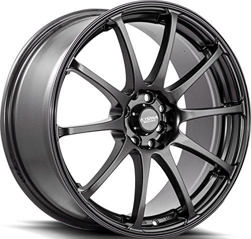 626 Series (Kyowa Racing Series 626 All Matte Black - 18 x 8 Inch Wheel)