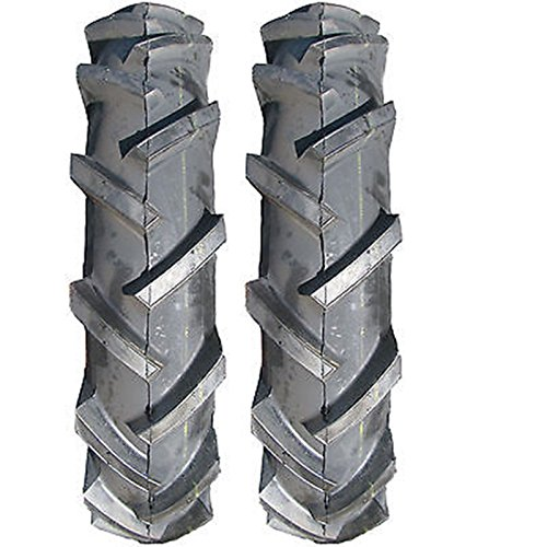 (SET OF 2) 7.50-16 7.50X16 D402 R1 Lug Farm Tractor Tires & Tubes 8-Ply Rated - Farm Tractor Mowers