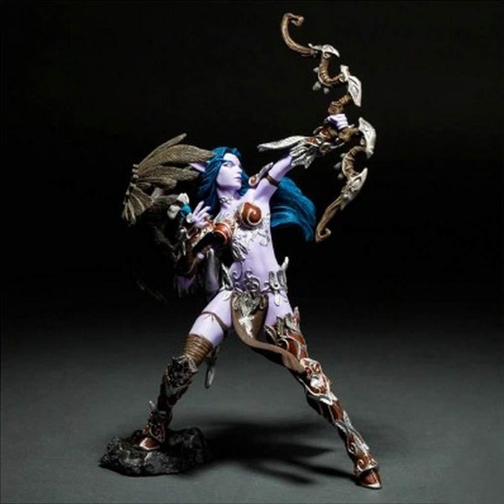 gran descuento Yuanyuanliu World World World of Warcraft Elfo de la Noche Modelo de Juguete Recuerdo Colección Artesanía  minorista de fitness