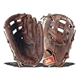 Shoeless Joe Gloves Fast Pitch H Web Brown Baseball Glove, Right Handed, 11 3/4-Inch
