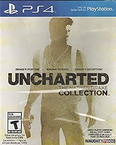 Amazon Com Uncharted The Nathan Drake Collection Playstation 4