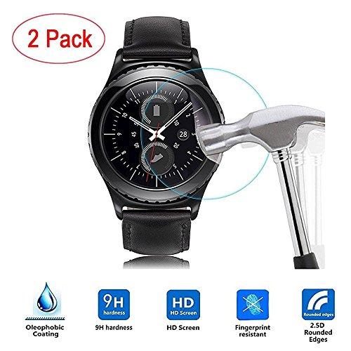 FTXJ 2PC HD Film For Samsung Gear S3 Classic Smart Watch Intelligent LCD Screen (Best Ftxj Popular Watches)