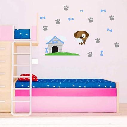 Amazon Com Mznm Cartoon Farm Animals Cute Dog Wall Stickers Kids