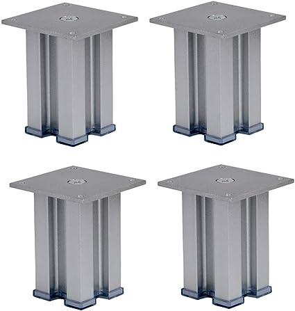 Patas de Muebles, Patas cuadradas de Aluminio, Patas de la ...