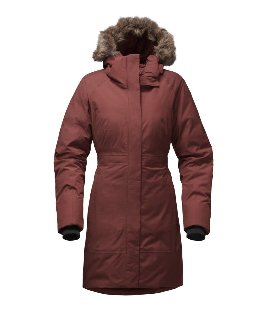 The North Face Women's Arctic Parka II - Sequoia Red - M (Past Season)