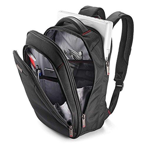 512lQKgwiTL - Samsonite Slim Business Backpack, Black, One Size