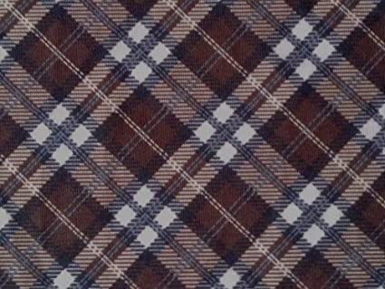 e6f4e549146 Image Unavailable. Image not available for. Colour: TARTAN PATTERNED STRETCH  VISCOSE JERSEY FABRIC MATERIAL - PER METRE