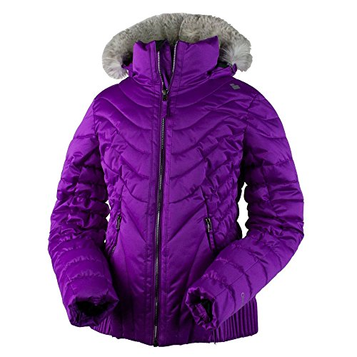 Obermeyer Girls Girls' Aisha Jacket, XL, Purple