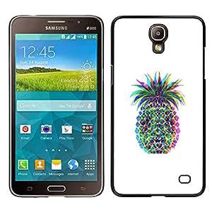 For Samsung Galaxy Mega 2 , S-type® Pineapple Colors Art Fruit - Arte & diseño plástico duro Fundas Cover Cubre Hard Case Cover