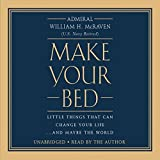 img - for [Make Your Bed Audiobook][William H. McRaven MAKE YOUR BED Audio CD] book / textbook / text book