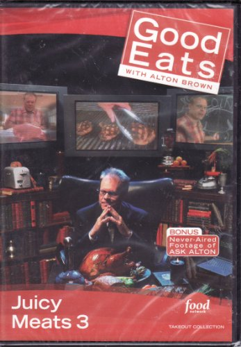 Food Network Takeout Collection DVD - Good Eats With Alton Brown Juicy Meats 3 Includes Ham I Am / Chops / Sausage: A Beautiful Grind