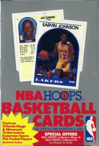 1989/90 Hoops Series 2 NBA Basketball Original Unopened Vintage Hobby Wax Box ()