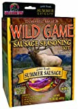 Hi-Country Snack Foods Domestic Meat and WILD GAME 21.26 oz. Summer Sausage Home Made Sandwich and Snack Style Sausage Spice Kits