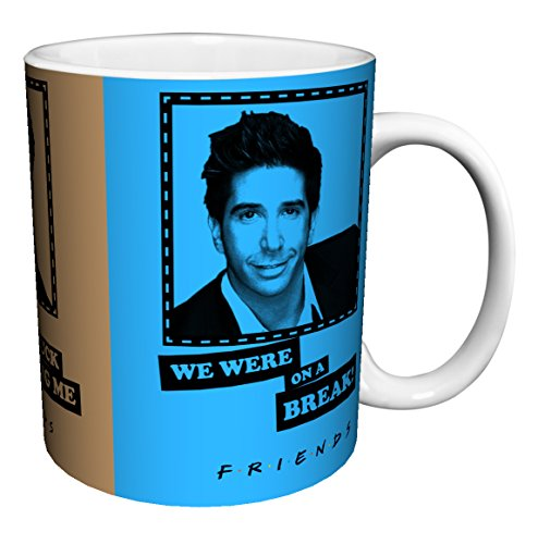 Friends Guys Quotes TV Television Romantic Sitcom Show Ceramic Gift Coffee (Tea, Cocoa) 11 Oz. Mug