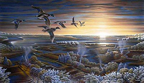 Terry Redlin Sunrise Duck Encore Art Print