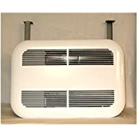 Bathroom ceiling heater solutions the Stelpro SK1501W puts out a quiet & powerful 1,500 watts & runs on 120 volts. It can heat up to 150 sq. feet it has an attractive rounded edge metal cover, when looking for more bathroom heating options