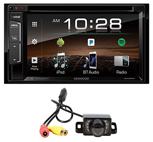 "Kenwood DDX25BT 6.2"" 2-Din DVD Monitor Bluetooth Receiver Sirius/MP3/WMA+Camera"