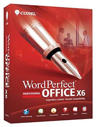Corel wordperfect office x6 professional edition buy online