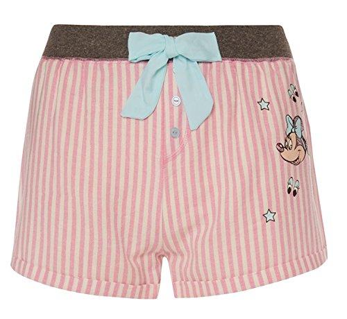 Primark - Mono de niña Disney Minnie Mouse rosa pijama PJ chaleco corto Set rosa rosa M: Amazon.es: Ropa y accesorios