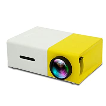 Proyector Mini proyector portátil Micro 1080P, proyector LED ...