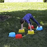 Milliard Kid's Stepping Balance Buckets 6-Pack with
