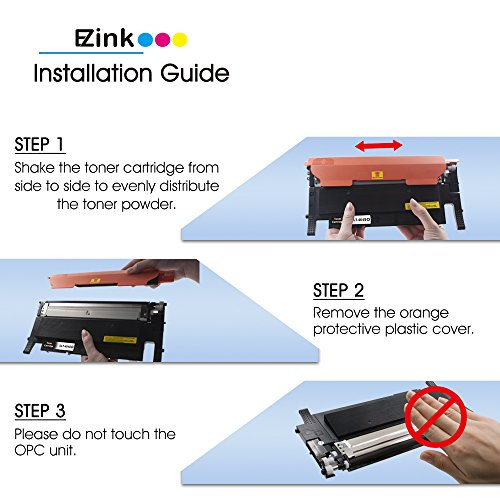 E-Z Ink (TM) Compatible Toner Cartridge Replacement For Samsung 404 404S CLT-K404S (2 Black) Compatible With Xpress C430W C480FW Printer Photo #5