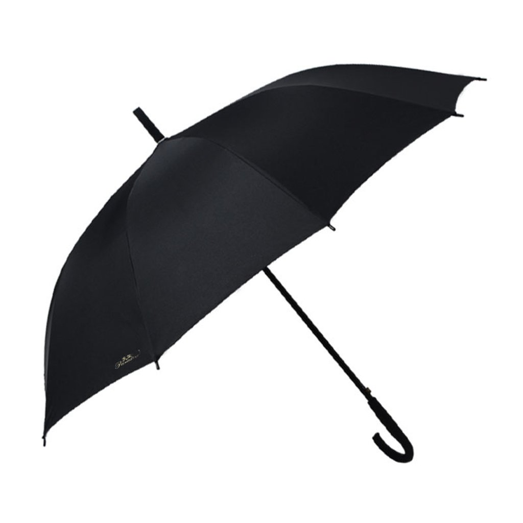 LAAN 特大傘 防風 防水 自動開閉 ユニセックス傘 ファイバーグラス製傘骨 旅行 軽量 ポータブル 速乾 滑り止めハンドル 持ち運び簡単 (カラー:ブラック)   B07NZKR8HM