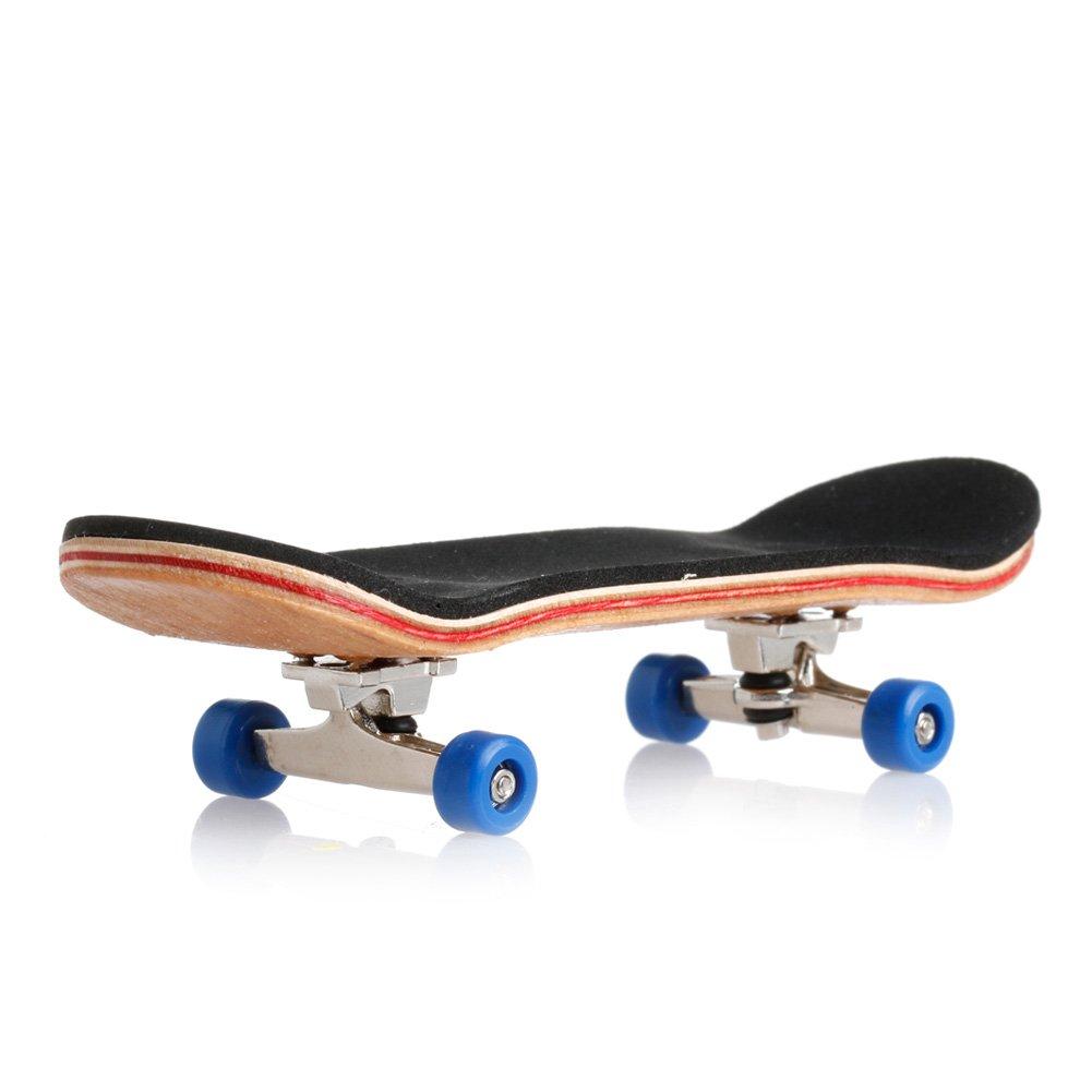 Kocome Wooden Deck Fingerboard Skateboard Sport Games Kids Gift Maple Wood New