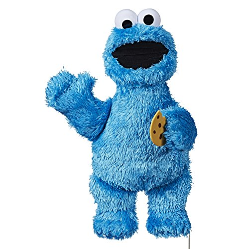 Sesame Street Feed Me Cookie Monster Plush: Interactive 13 Inch Cookie Monster, Says Silly Phrases, Belly Laughs, Sesame Street Toy for Kids 18 Months Old and Up -