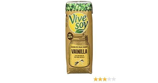 Vivesoy Bebida de Soja Vainilla - Paquete de 3 x 250 ml - Total: 750 ml - [Pack de 7]: Amazon.es: Alimentación y bebidas
