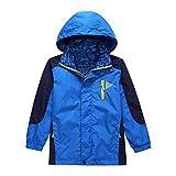 Lightweight Rain Jacket for Boys -Boys Waterproof Jacket ,Blue,13-14 Years